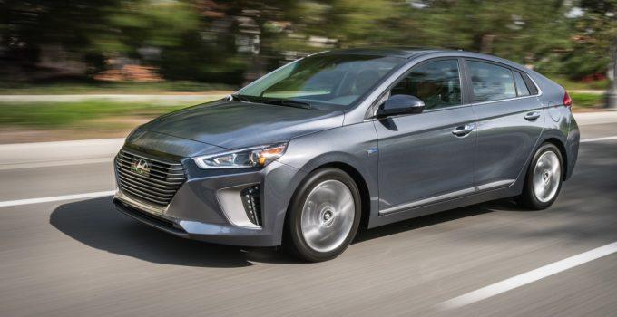 Hyundai Ionic Hybrid 2017