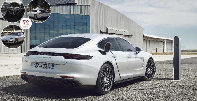 Porsche Panamera Turbo S-E Hybrid 2017