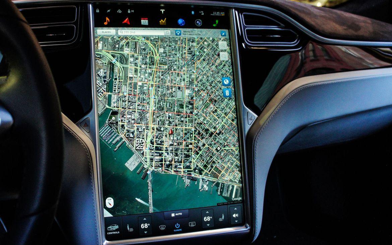 Review del Tesla S 60 2016 - Tecnologia